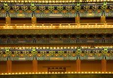 den beijing detaljporten qianmen fyrkantiga tiananmen Fotografering för Bildbyråer