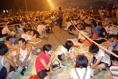 den beijing olympiska spel POP jobbanvisningar Fotografering för Bildbyråer