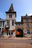 Den belgiska staden av Remouchamps Arkivbild