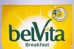 Den Belvita frukosten bakar Arkivbilder