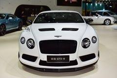 Den Bentley Continental GT3-R bilen Royaltyfri Bild