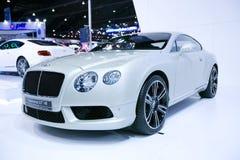 Den Bentley Continental GT V8 bilen Royaltyfri Fotografi