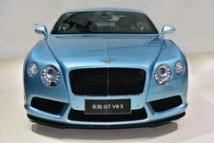 Den Bentley Continental GT V8 S bilen Arkivbilder