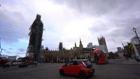 Den berömda Big Ben är under konstruktion lager videofilmer