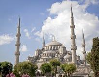 Den berömda blåa moskén för wolrd Arkivfoton