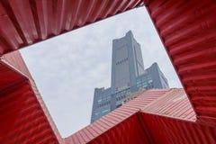 Den berömda byggnaden 85 i Kaohsiung Royaltyfri Bild