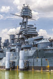 Den berömda Dreadnought slagskeppet royaltyfri bild
