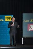 Den berömda FDP-politikern och den parlamentariska kandidaten Wolfgang Kubicki fotografering för bildbyråer