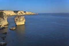 Bonifacio klippa Royaltyfria Bilder