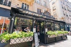 Den berömda L'Escargot Montorgueil restaurangen fotografering för bildbyråer