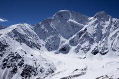 Den berömda närbilden för bergmaximum sju Arkivbild