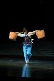 Den berömda operaskådespelareChen Li Jiangxi operan en besman Royaltyfri Foto