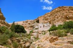 Den berömda ortodoxa kloster av St George Arkivfoto