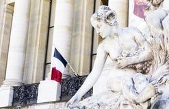 Den berömda Petit Palais royaltyfria foton