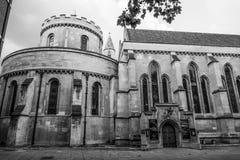 Den berömda tempelkyrkan i staden av London - LONDON - STORBRITANNIEN - SEPTEMBER 19, 2016 Royaltyfri Bild
