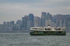 Den berömda Victoria Harbor Arkivbild