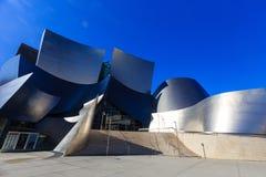 Den berömda Walt Disney Concert Hall Fotografering för Bildbyråer