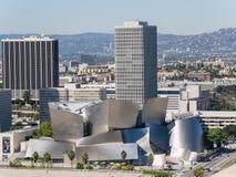 Den berömda Walt Disney Concert Hall Arkivfoton