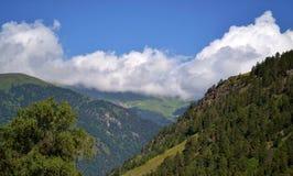 In den Bergen des Kaukasus Stockfotografie