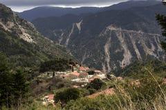 In den Bergen von Nafpaktia West-Griechenland Lizenzfreie Stockfotografie