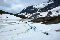 in den Bergen von Norwegen Stockbild