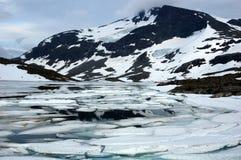 In den Bergen von Norwegen Stockfotos