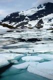 In den Bergen von Norwegen Lizenzfreies Stockfoto
