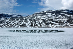 In den Bergen von Norwegen Stockfoto