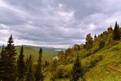 In den Bergen vor dem Sturm Lizenzfreies Stockbild
