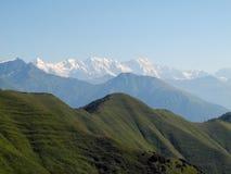 Den bergiga Svanetien Royaltyfria Bilder