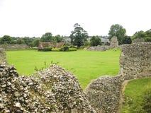 Den Berkhamsted slotten fördärvar hertfordshire UK Royaltyfri Bild
