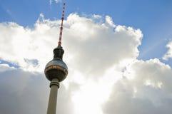 Den Berlin TV:N står hög Royaltyfri Fotografi