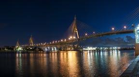 Den Bhumibol bron Fotografering för Bildbyråer