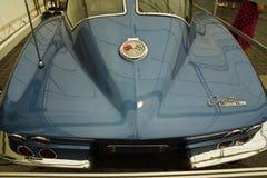 den bilChevrolet Corvette o strålen sticker tappning Royaltyfri Bild