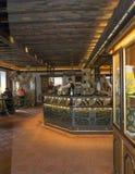 Den Birreria Forst restaurangen, Merano, södra Tyrol, Italien fotografering för bildbyråer