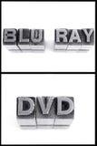 Den blå strålen och dvd undertecknar in kvarterbrev Arkivbilder