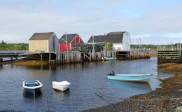 den blåa fiskenovaen vaggar scotiahyddor Royaltyfria Bilder