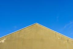 Den blåa himlen över Arkivbilder