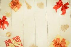 den blåa julen inramniner magi Royaltyfri Fotografi