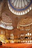 Den blåa moskén Arkivbilder