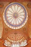 Den blåa moskén Arkivbild