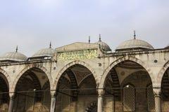 Den blåa moskén av Istanbul Royaltyfri Foto