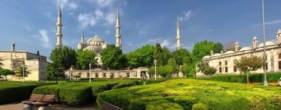 Den blåa moskén, Istambul, Turkiet Royaltyfri Foto