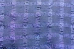 Den blåa syntetiska fibern Arkivbild