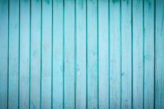 Den blåa wood texturen Royaltyfri Fotografi