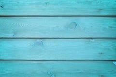 Den blåa wood texturen med naturliga modeller arkivfoto