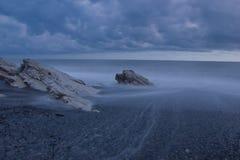 Den Black Sea kusten, Abchazien Royaltyfri Foto