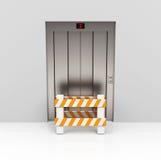 Den blockerade hissen vektor illustrationer