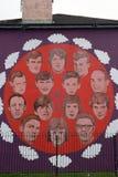 Den blodiga söndag åminnelsen, Derry som är nordlig - Irland royaltyfri bild