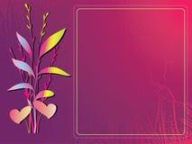 den blom- ramen inramniner serie Arkivfoto